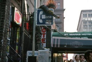 St. Marks Place , early 1990s